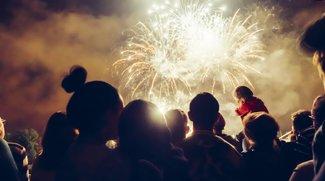 Ein Feuerwerk fotografieren: gewusst wie!