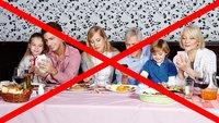 Smartphone beim Essen weg: Papst fordert familiäre Tischgemeinschaft