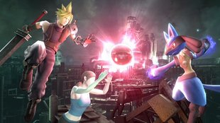 Super Smash Bros.: Cloud Strife zeigt sich auf Screenshots!