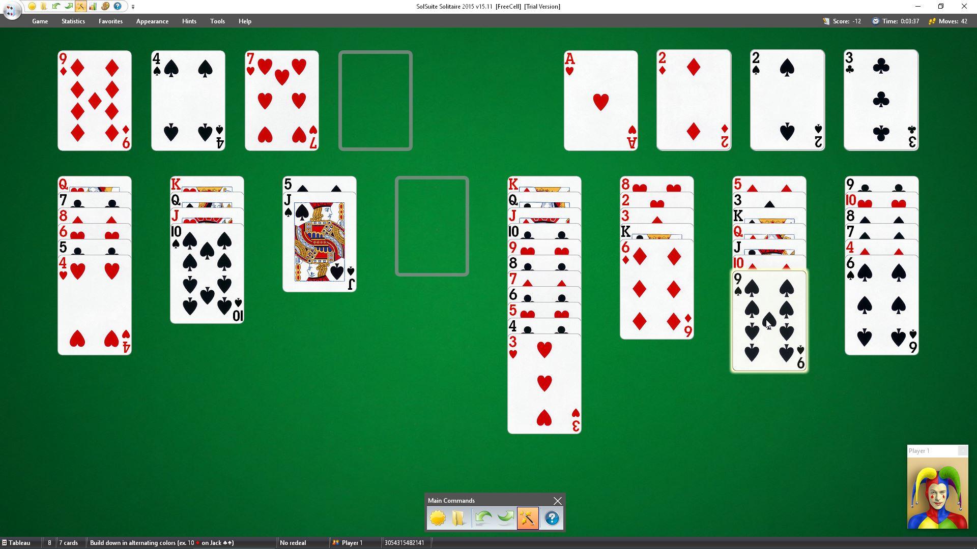 freecell kartenspiel