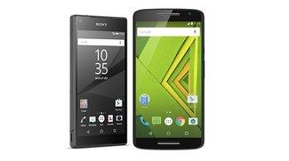 Motorola Moto X Play und Sony Xperia Z5 Compact heute stark reduziert
