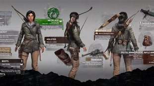 Rise of the Tomb Raider: 10 Outfits für Lara