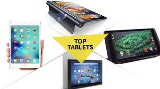 Bestenliste: Top-Tablets mit 10, 8 und 7 Zoll im Vergleich