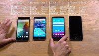 iPhone 6s Plus, LG G4, Huawei Mate S und OnePlus 2: 5,5-Zoll-Phablets im Video-Größenvergleich