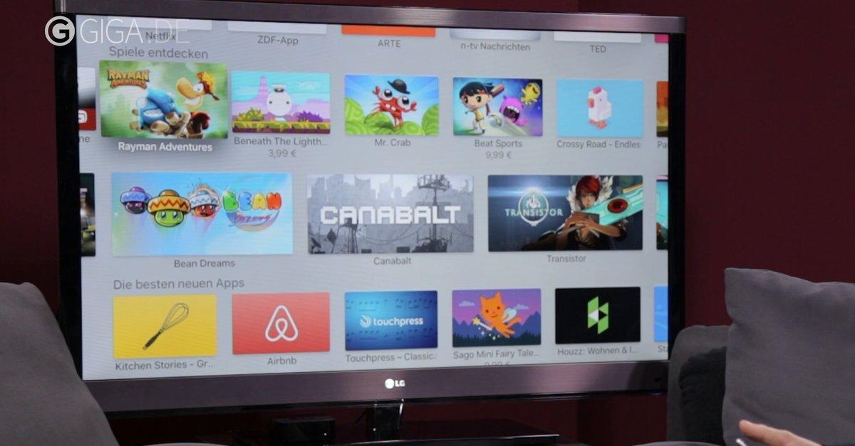 Apple Tv Im Video Vorgestellt So Sehen Hardware