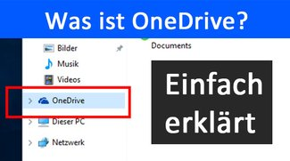 Was ist OneDrive? (Windows, Cloud-Dienst)
