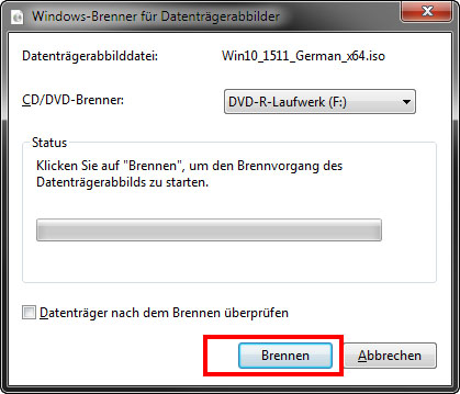 Windows 10 Dvd Brennen