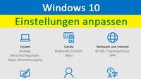 Windows 10: Einstellungen anpassen – So geht's auch bei der Installation