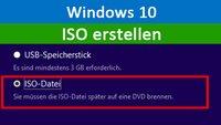 Windows 10: ISO erstellen – So geht's