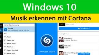 Windows 10: Musik erkennen mit Cortana – So geht's