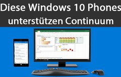 Welche Windows 10 Phones...