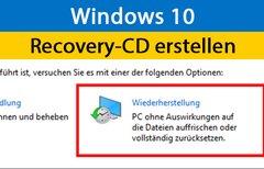 Windows 10 & 7: Recovery-CD...