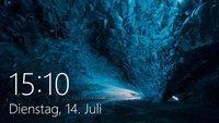 Windows 10: Sperrbildschirm ändern – so geht's