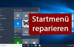 Windows 10: Startmenü...