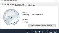 Windows 10: Uhrzeit falsch? Mit Atomuhr-Zeitserver synchronsieren – so geht's