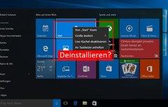 Windows 10: Vorinstallierte...