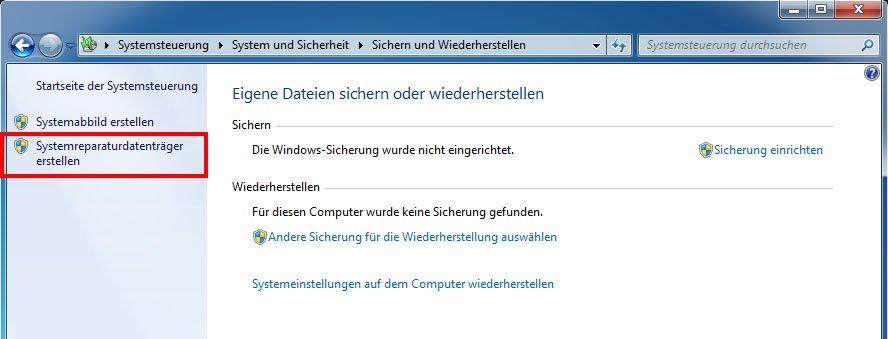 Recovery Cd Erstellen Windows 10