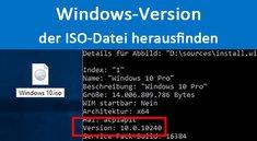 Windows-Version einer ISO-Datei herausfinden – So seht ihr die Build-Nummer