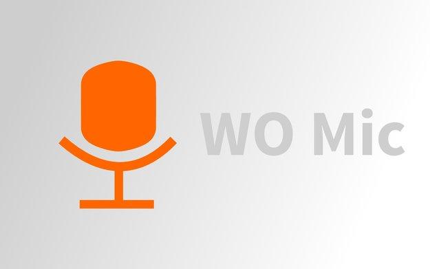WO Mic: App verwandelt Smartphone in ein Mikrofon für den PC