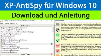 Windows 10: AntiSpy Download und Anleitung