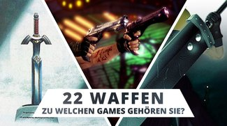 Teste dich: Weißt du, aus welchen Games diese 22 Waffen stammen?