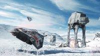 Ist das Hoth oder der Südpol? So freuen sich Star Wars-Fans in der Antarktis.