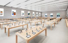 Abholung im Apple Store ab...