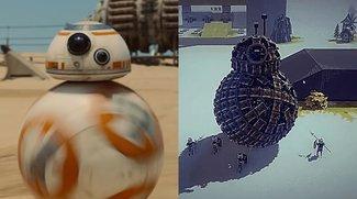 Jemand hat einen BB-8 in Besiege gebaut und er ist großartig