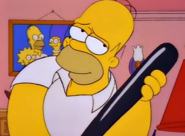 Die Simpsons Cartoon Sexbilder Weiche Bondage-Pornos