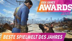 GIGA GAMES Awards 2015: Die beste Spielwelt des Jahres