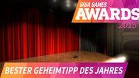 GIGA GAMES Awards: Das war der beste Geheimtipp 2015