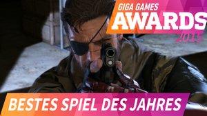 GIGA GAMES Awards 2015: Das beste Spiel des Jahres