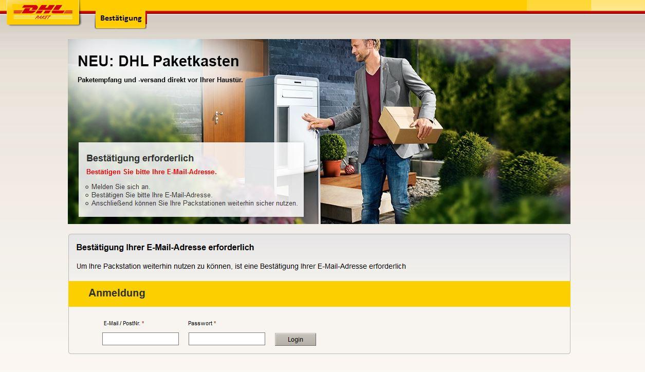 Packstation Karte Gesperrt.Dhl Packstation Wird Endgültig Gesperrt Achtung Falle