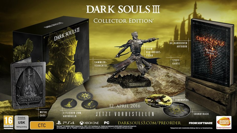 Dark Souls 3 Collectors Edition USK
