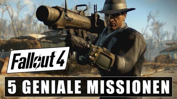 Diese 5 Missionen aus Fallout 4 haben uns echt umgehauen