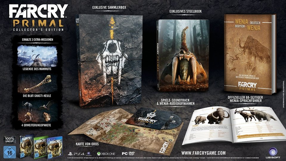 Far Cry Primal Collectors Edition