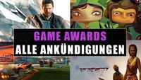 The Game Awards 2015: Alle Ankündigungen in der Übersicht (mit Video-Recap)