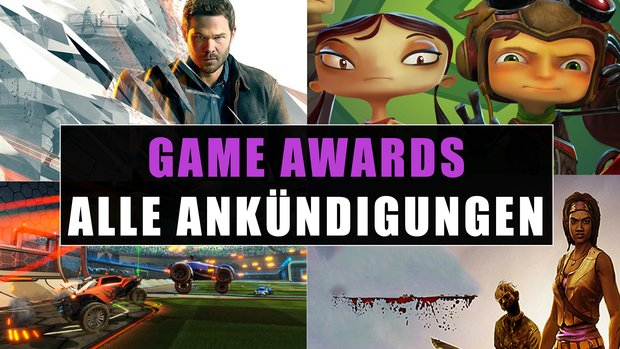 The Game Awards 2015: Alle Ankündigungen in der Übersicht (mit Video-Recap)
