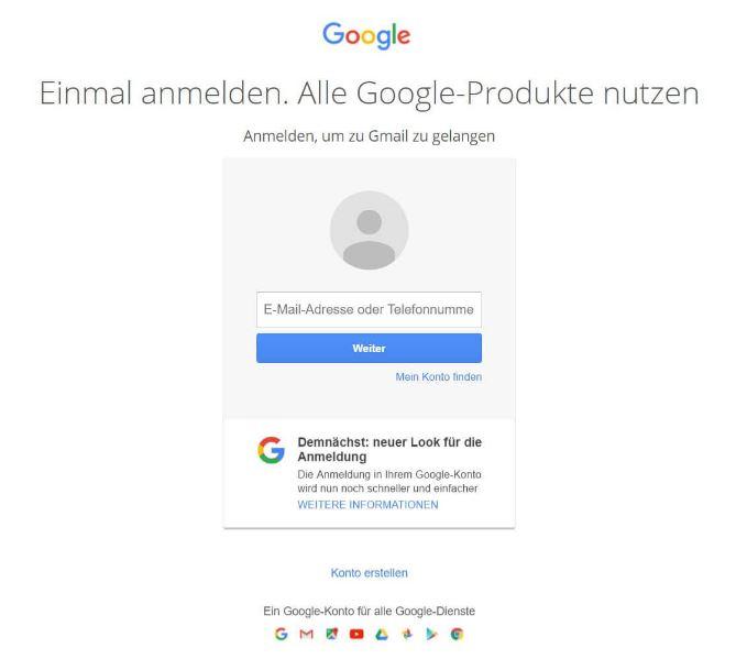 Anmelden Beim Google Login Darauf Musst Ihr Achten