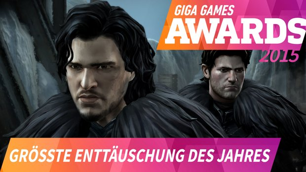 GIGA GAMES Awards: Das war die größte Enttäuschung 2015