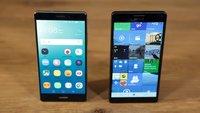 Huawei Mate S vs. Microsoft Lumia 950 XL - 5 Unterschiede