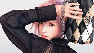 Final Fantasy: Lightning modelt für Mode-Label Louis Vuitton