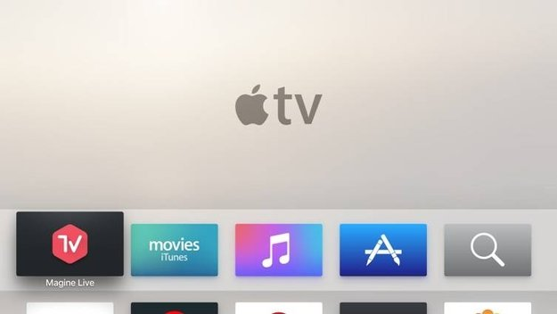 """""""Magine Live""""  jetzt als App für Apple TV verfügbar"""
