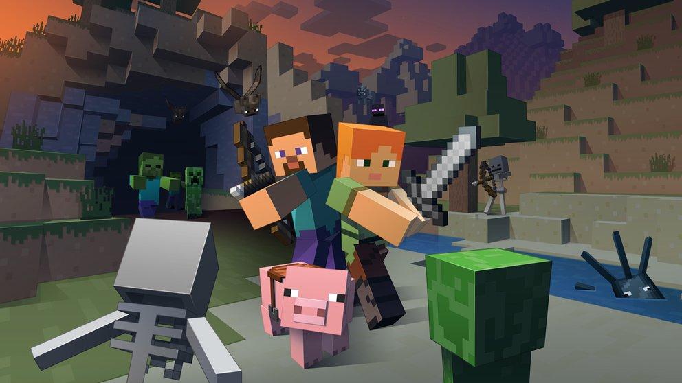 Das Minecraft-Update 1.9 fügt ein Zweihandsystem hinzu
