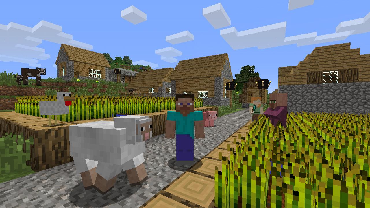 Minecraft Für Konsolen Dieses Update Stellt Eure Klötzchenwelt Auf - Minecraft wii spielen
