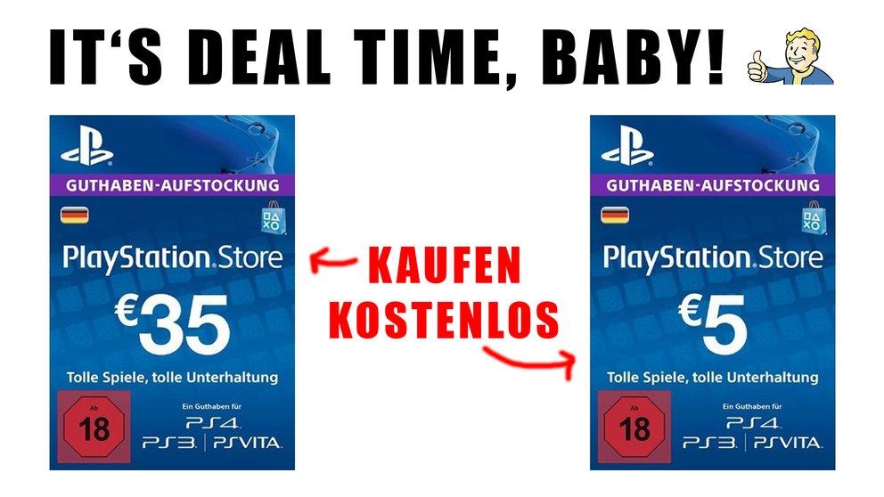 Playstation Karte Aufladen.Dieses Psn Angebot Schenkt Dir 5 Wenn Du Dein Store