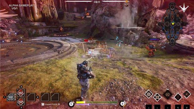 Paragon: Erste Gameplay-Szenen zum neuen Spiel von Epic Games sehen gut aus