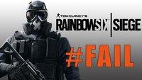 Rainbow Six - Siege: Hast du diese genialen Fails schon gesehen?