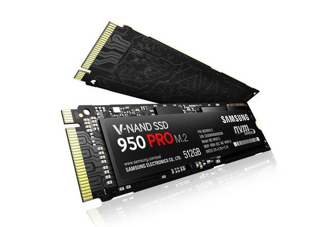 Samsung SSD 950 Pro: Mit 3D-V-NAND-Technologie durch die Schallmauer