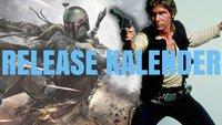 Wie geht es nach Star Wars 7 weiter? Der komplette Release-Kalender aller neuen Star Wars-Filme und Spin-offs